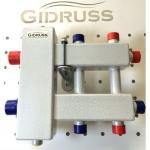 Коллекторы отопления с гидрострелкой Gidruss. Серия