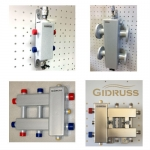 Гидрострелки и коллекторы отопления Gidruss Гидрусс