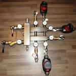 Готовые модули на базе коллекторов отопления