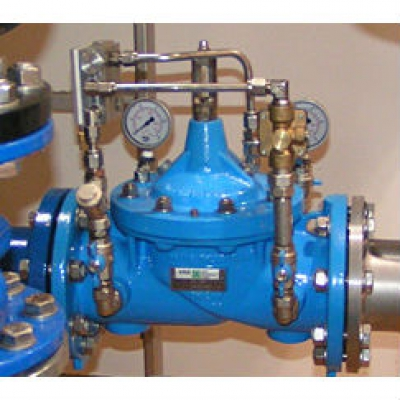 "Балансировочный клапан Watts SRV15-AG Wattflow нар. резьба 1"", DN15 со встроенным расходомером"