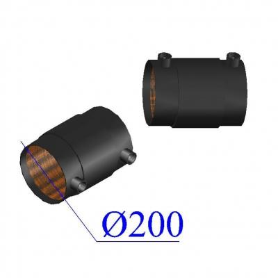 Муфта d200 ПЭ100 SDR17 электросварная