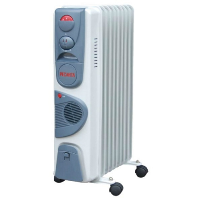 "Масляный радиатор ""Ресанта. ОМ-9НB"" (2,4 кВт)"