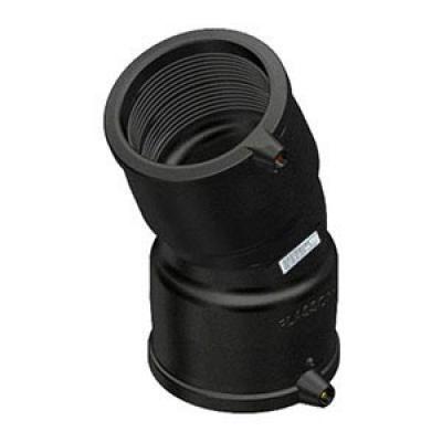 Отвод d 125x25° ПЭ100 SDR11 электросварной