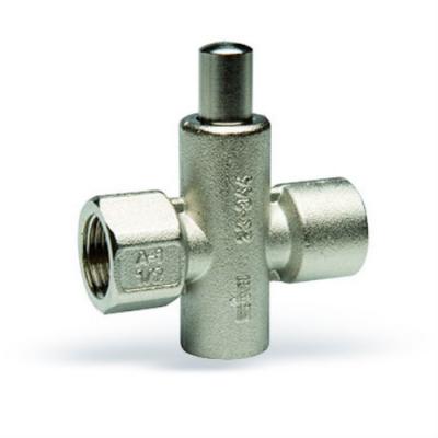 Запорный клапан Watts RMD 15 кнопочный для манометра