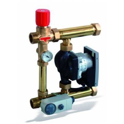 Насосно-регулирующий модуль Watts Isotherm для теплого пола до 15 кВт с насосом Wilo Star-RS 25/6-3