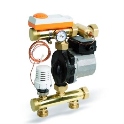 Насосно-смесительный модуль Watts FRG3015F для теплого пола до 14 кВт
