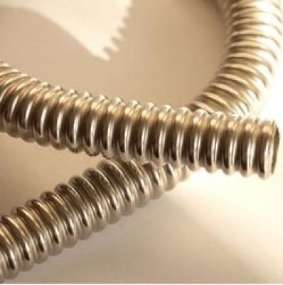 Труба гофрированная из нержавеющей стали неотожжённая 25