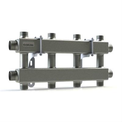 Модульный коллектор отопления на 4 контура Gidruss MK-100-4DU