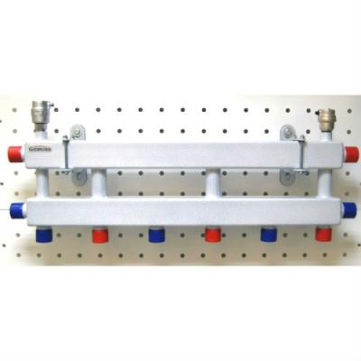 Модульный коллектор Gidruss MK-40-4D на 4 контура