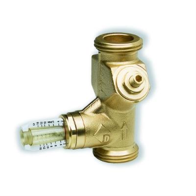 "Балансировочный клапан Watts SRV20-AG Wattflow нар. резьба 1"", DN20 со встроенным расходомером"