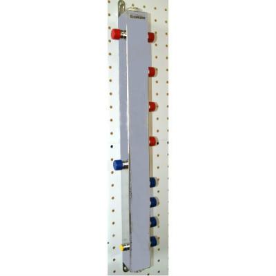 Термо-гидравлический разделитель ТGR-40-20х4 Gidruss с вертикальным коллектором на 4 контура