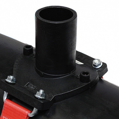Седелочный отвод d 500-630x110 ПЭ 100 электросварной