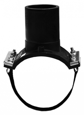 Седелочный отвод d 110x25 ПЭ 100 электросварной