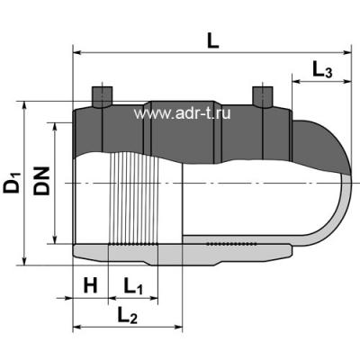 Заглушка d40 ПЭ100 электросварная