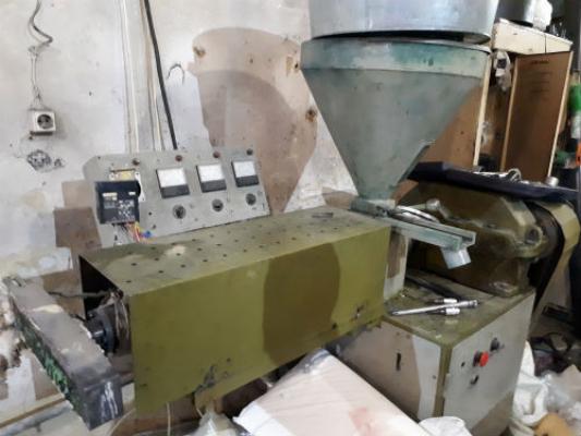 Линия для производства ворса, щеточных дисков, полипропиленового ворса, лески, мононити