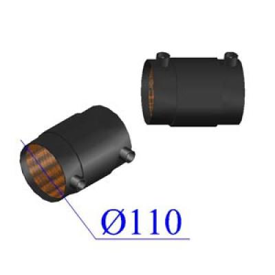 Муфта d110 ПЭ100 SDR7,4 электросварная