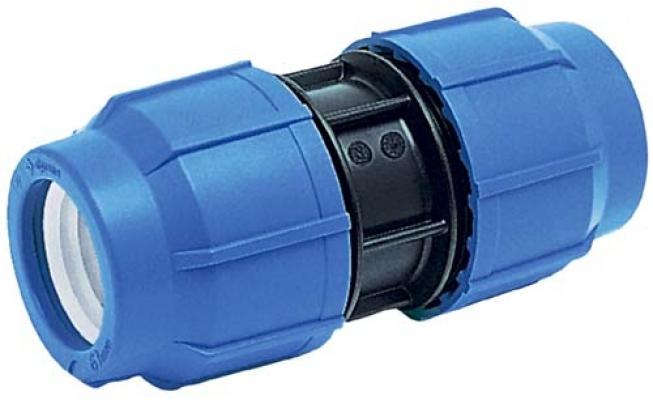 Муфта ПНД компрессионная 20 мм