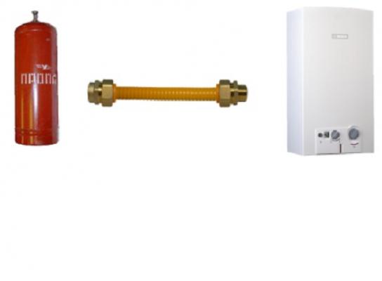 "Муфта латунная ""Труба-внутренняя резьба (мама) 20х3/4"" с диэлектриком для газа"