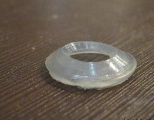 """Прокладка 3/4"""" силиконовая для гибких подводок"""