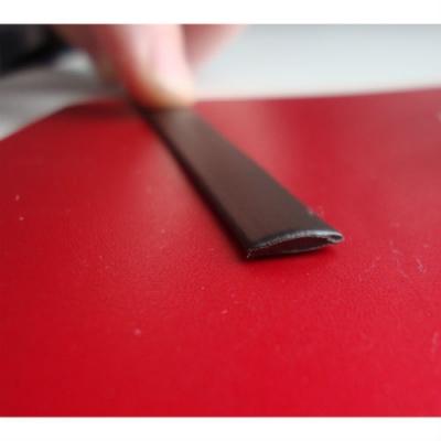 """Полиротанг """"Полоса венге"""", ширина 6 мм текстура гладкая"""