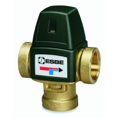 Клапан термостатический смесительный ESBE VTA321 20-43C с вн. резьбой 3/4, kvs 1,6