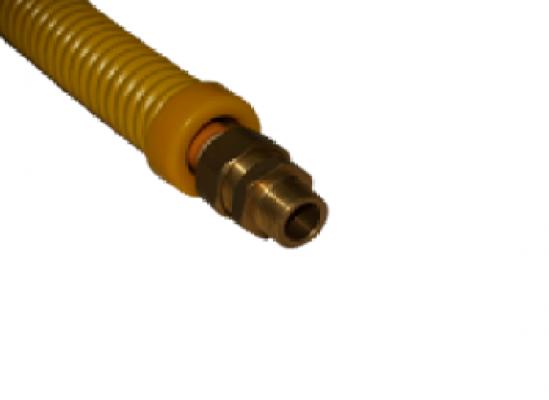 Защита карбоновая для гофрированной трубы 15 мм