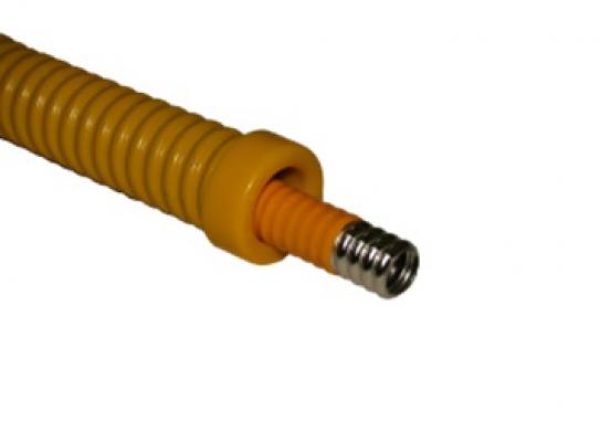 Защита стальная для гофрированной трубы 15 мм