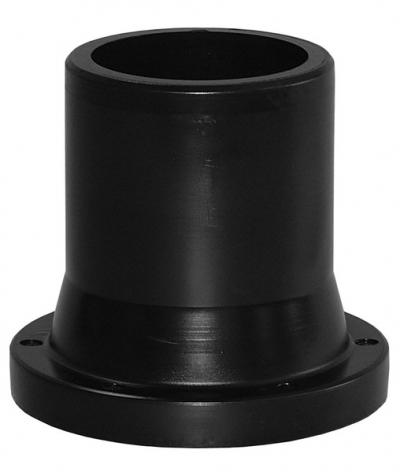 Втулка под фланец 180 ПЭ 100 SDR 17 литая удлиненная