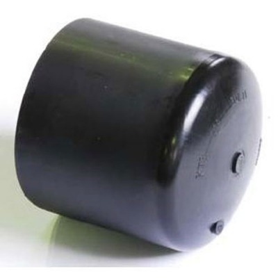 Заглушка 110 литая удлиненная ПЭ 100 SDR 11