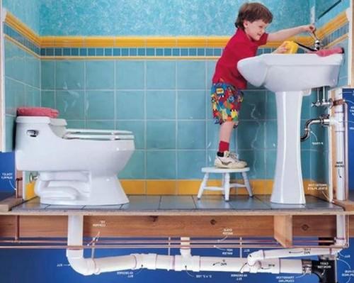 Как сделать канализацию для ванной